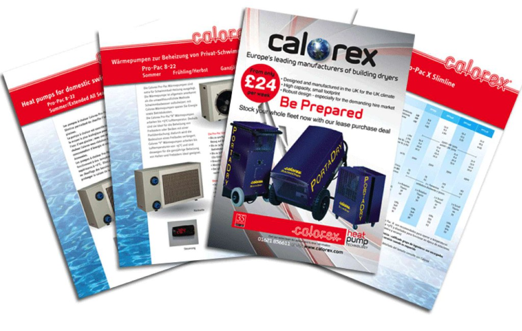 Calorex brochures